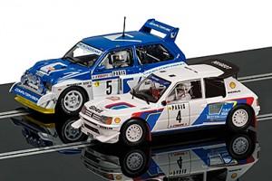 Peugeot 205 T16 E2 & MG Metro 6R4- C3590A